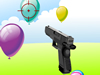 手槍射氣球